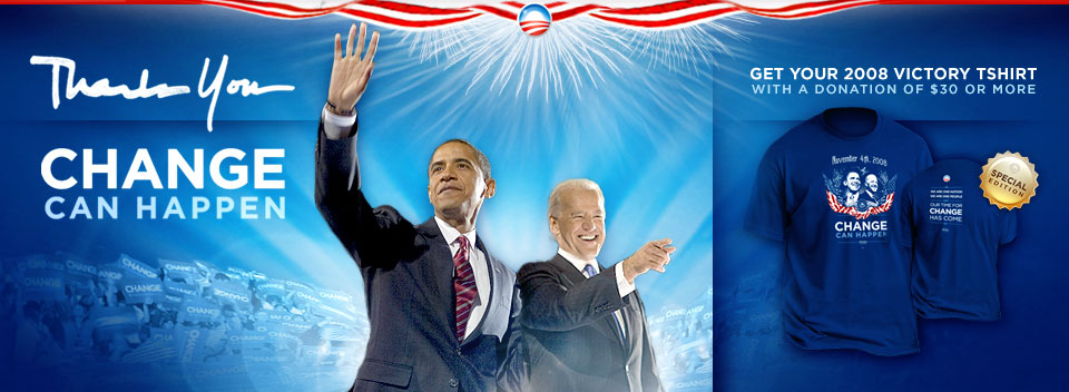 Obama - Biden : Thank you